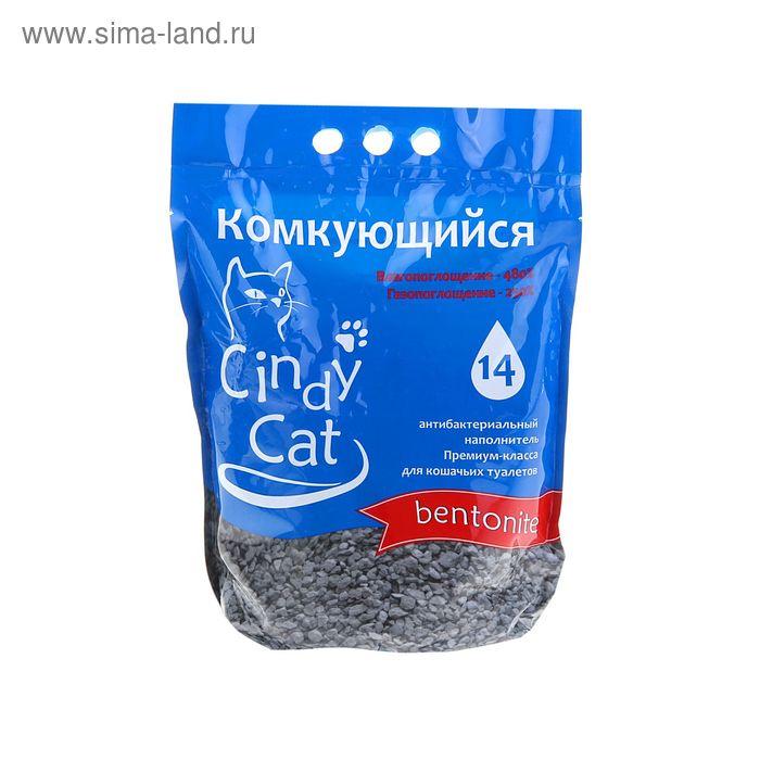 """Наполнитель  минеральный комкующийся """"Cindy cat bentonite"""", 3 кг"""