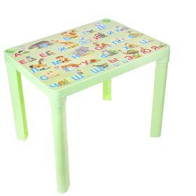Детский стол 'Азбука', цвет фисташковый Ош
