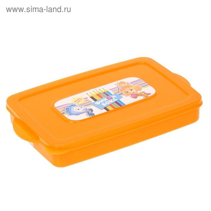 """Контейнер для фломастеров и карандашей """"Фиксики"""", 0,6 л, МИКС"""