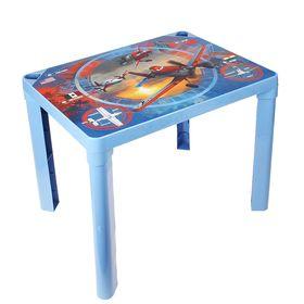Детский стол 'Самолёты', цвет голубой Ош