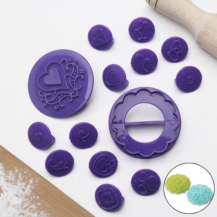 Набор для декорирования кексов, 14 предметов