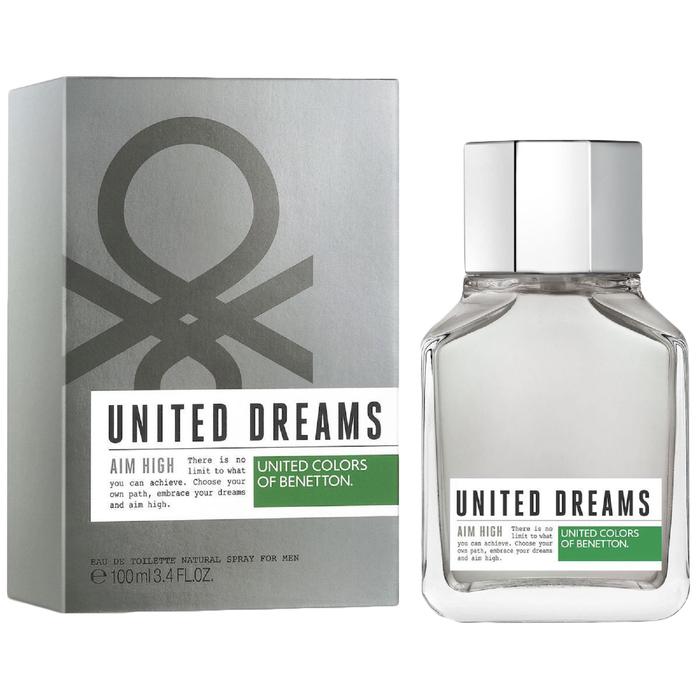 Туалетная вода Benetton United Dreams Men Aim High, 100 мл