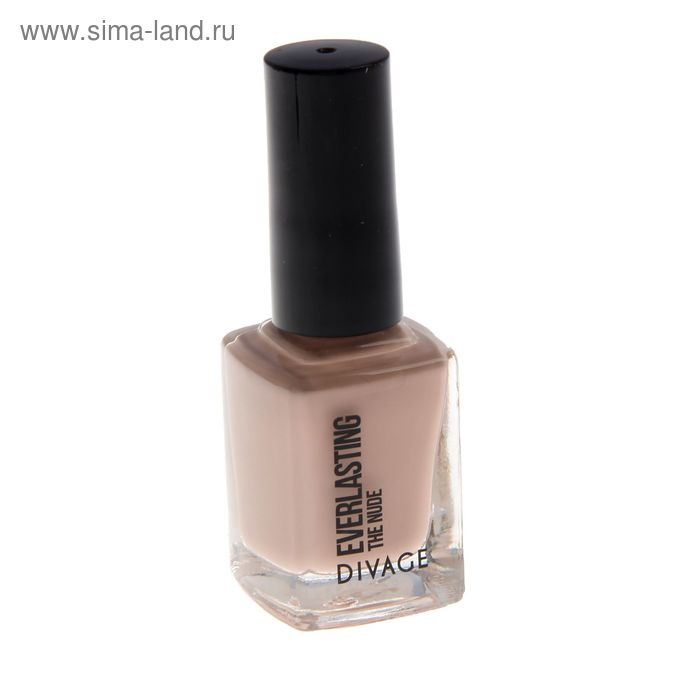 Лак для ногтей Divage Everlasting, тон The Nude № 03