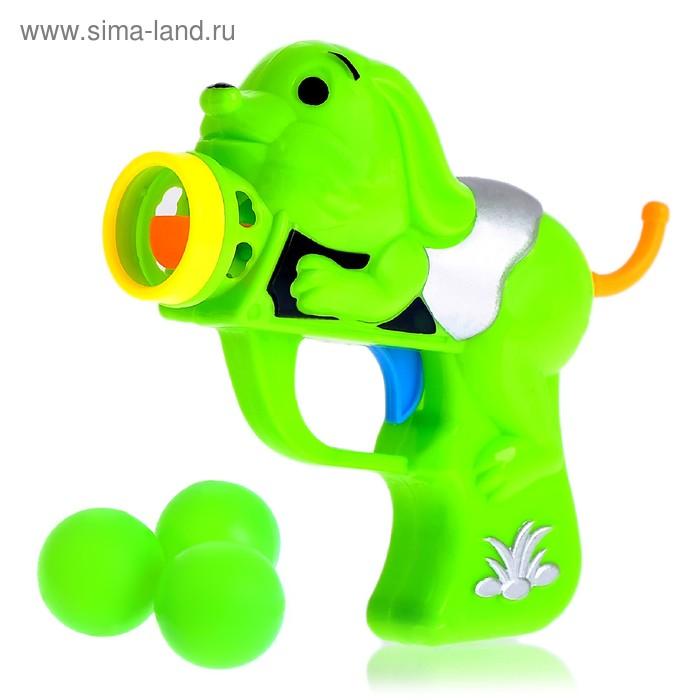 Пистолет «Детский», стреляет шариками, цвета МИКС