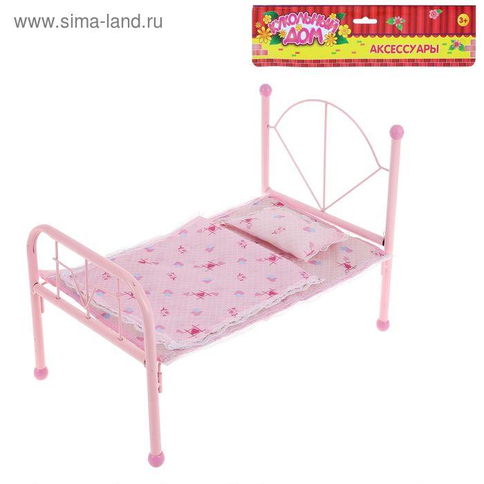 Кровать для куклы, БОНУС - наклейки