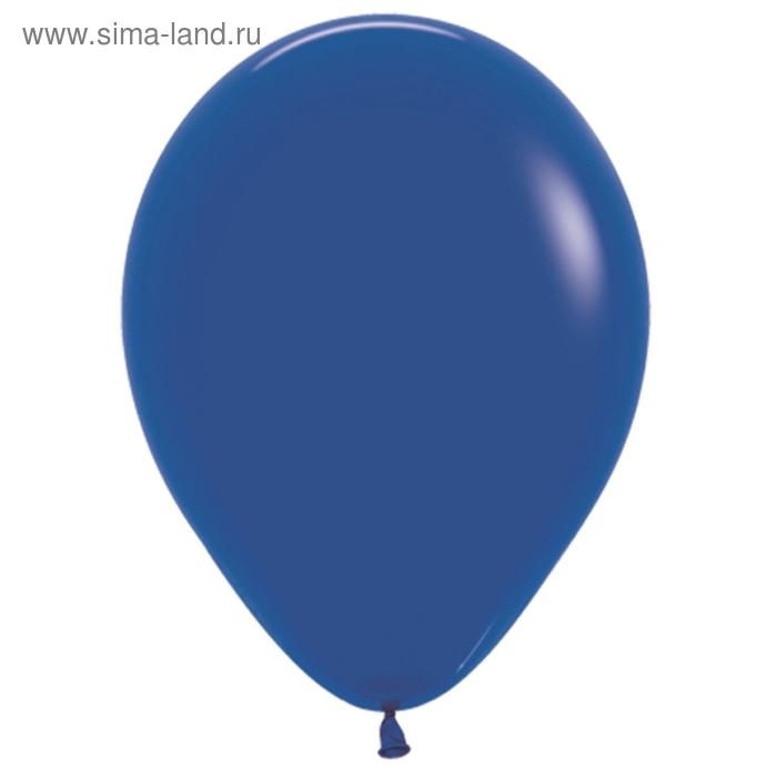 """Шар латексный 10"""", пастель, набор 100 шт., цвет синий"""