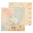 """Бумага для скрапбукинга """"Цветочная сказка"""", 30,5 х 30,5 см 180 г/м"""