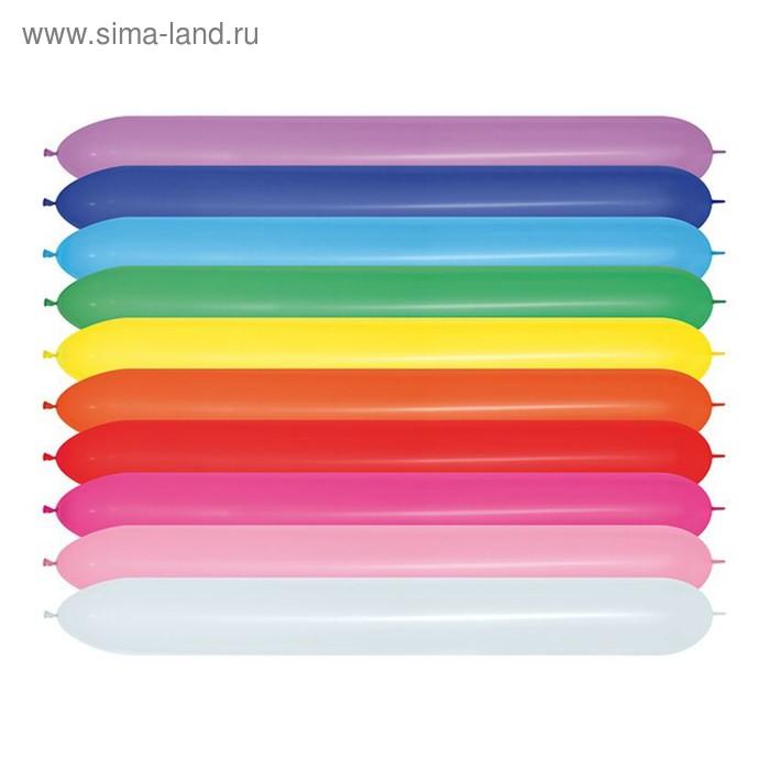 Шар для моделирования 660, линколун, пастель, набор 100 шт., цвета МИКС