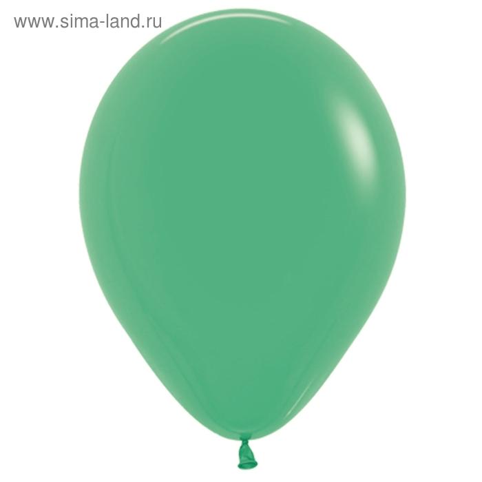 """Шар латексный 10"""", пастель, набор 100 шт., цвет зелёный"""