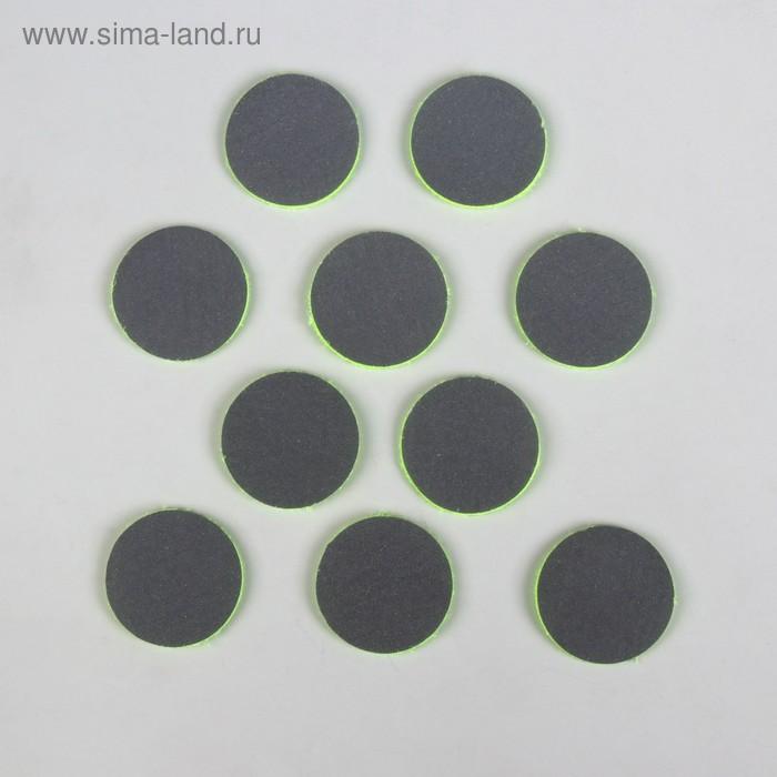 Светоотражатель фигурный, d=35мм, набор 10шт, цвета МИКС