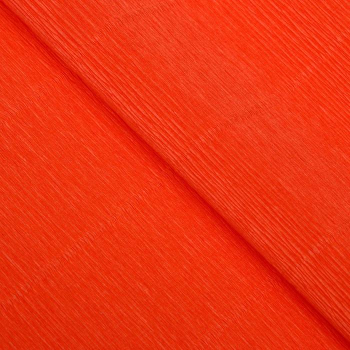 """Бумага гофрированная, 981 """"Оранжевая"""", 0,5 х 2,5 м"""