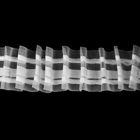 Curtain tape, width 30 mm, 6±1 m