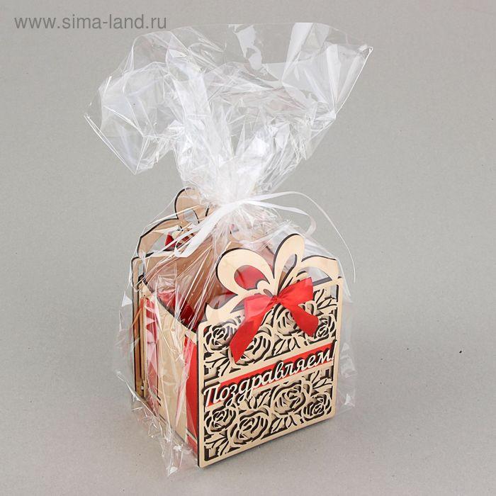 "Подарочная коробка-сумка ""Подарок"", 13,5 х 11 х 20 см"