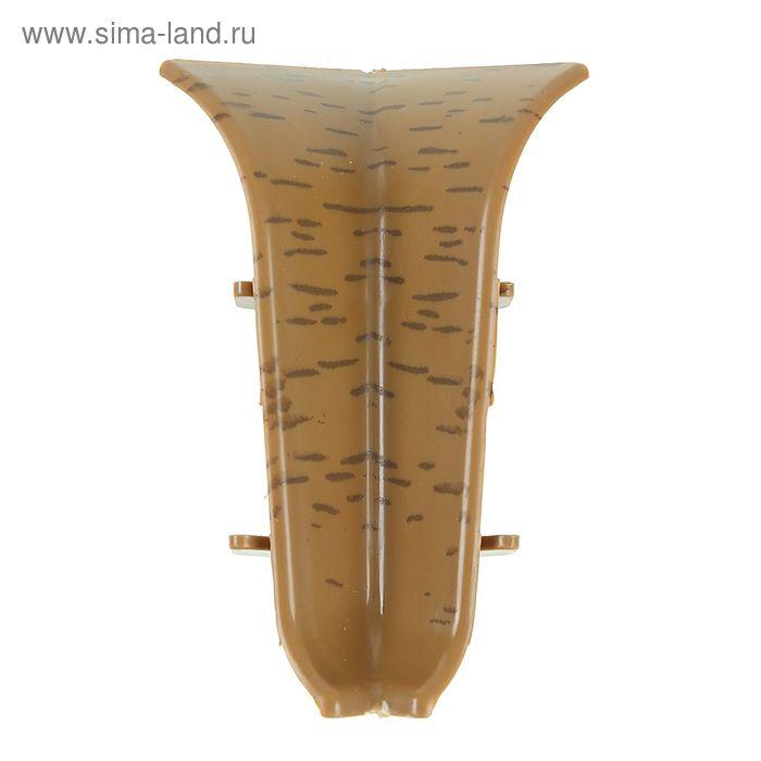 Угол внутренний для плинтуса (D) текстура (061 Дуб измир)