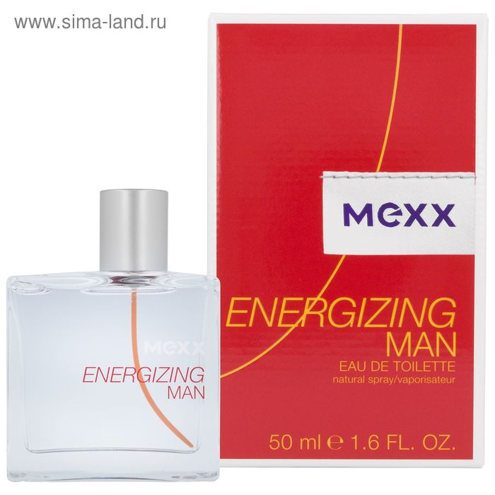 Туалетная вода Mexx Energizing man, 50 мл