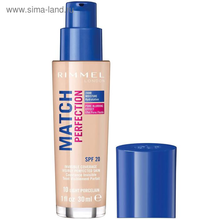 Тональный крем Rimmel Match Perfection Foundation  #010, 30 мл