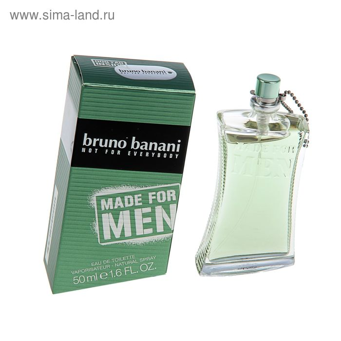 Туалетная вода Bruno Banani Made for men, 50 мл