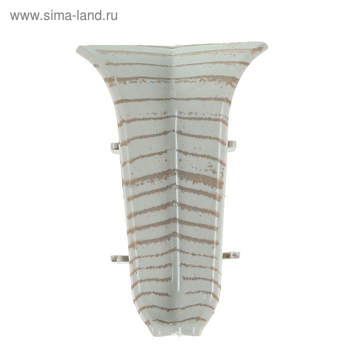 Угол внутренний для плинтуса (D) текстура (503 Ясень)