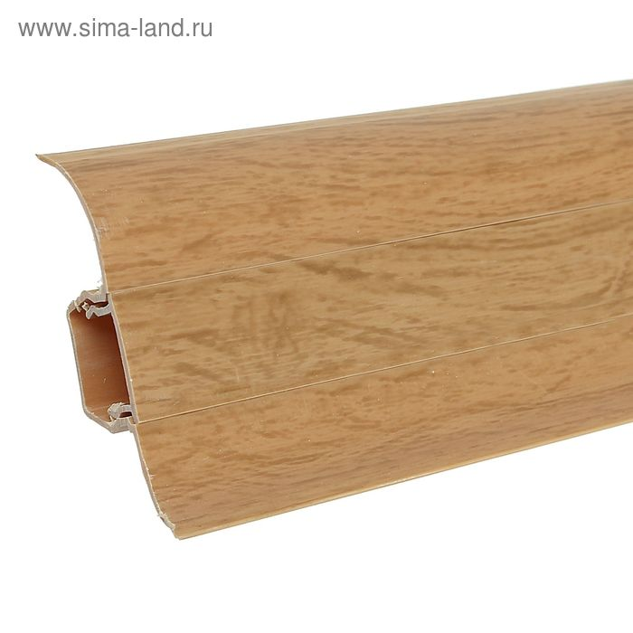 Плинтус с кабель-каналом 5,5х2,1х250 см DekoFloor Дуб янтарный