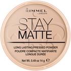 Пудра для лица Rimmel Stay Matte- Silky Beige №005