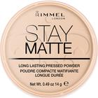 Пудра для лица Rimmel Stay Matte- Peach |Glow №003
