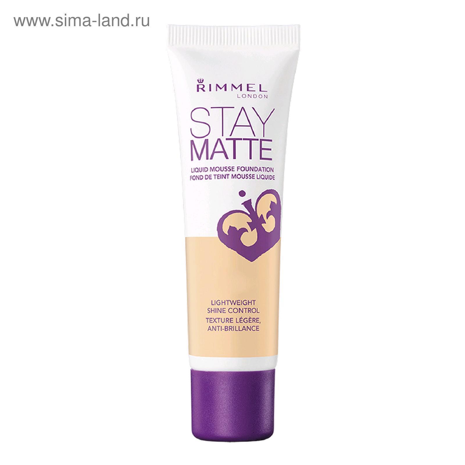 Rimmel Stay Matte Foundation 010 1246427