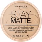 Пудра для лица Rimmel Stay Matte- Sandstorm 14 гр №004
