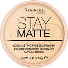 Пудра для лица Rimmel Stay Matte - Transparent №001
