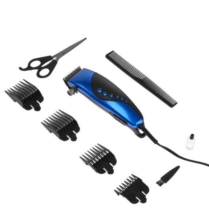 Машинка для стрижки волос Irit IR-3309, 4 уровня стрижки, 10 Вт,  электрическая