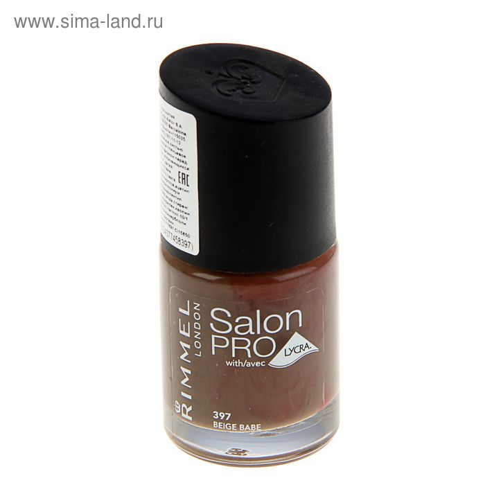 Лак для ногтей Rimmel Salon Pro with Lycra #397 Beige Babe