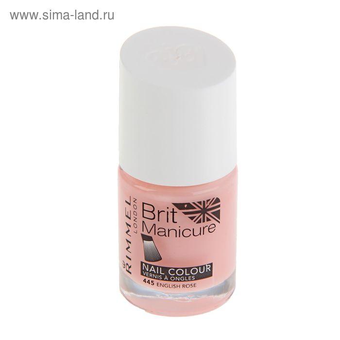 Лак для ногтей Rimmel Brit Manicure Nail Color  #445 English Rose