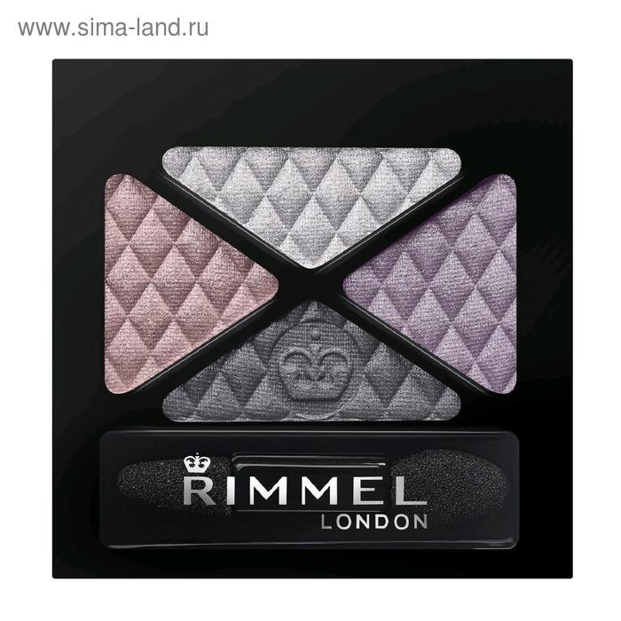 Тени для век Rimmel  Glam`Eyes Colour Rush Quad Eye Shadow 001 тон  тон 023  , 4,2 гр