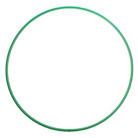 Обруч, диаметр 90 см, цвет зелёный
