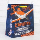 """Пакет ламинированный вертикальный """"Будь на высоте"""", Самолет, 23 х 27 см, + мини-открытка"""