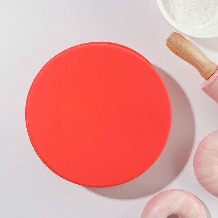 "Форма для выпечки ""Круг"" 17,5х5,8 см, цвета МИКС"