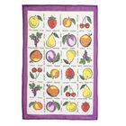 """Полотенце кухонное """"Collorista"""" Фрукты-ягоды (вид 2) 47*70±2 см, 100%хл, рогожка, 162 г/м2"""
