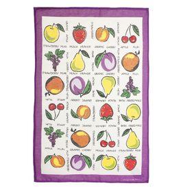 Полотенце кухонное 'Collorista' Фрукты-ягоды (вид 2) 47*70±2 см, 100%хл, рогожка, 162 г/м2 Ош