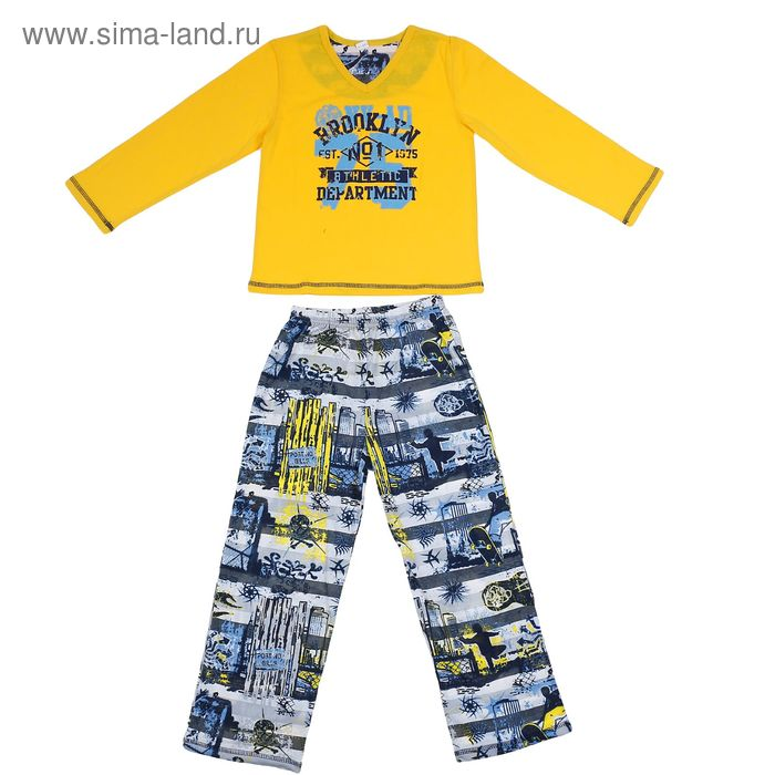 "Пижама для мальчика ""Rally"", рост 152 см (76), цвет микс 631-15"