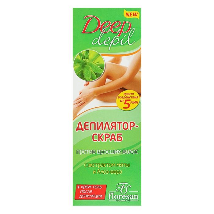 Депилятор-скраб Deep Depil против вросших волос, 75 мл