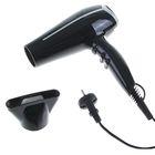 Фен для волос LuazON LF-04, 2200 Вт, 2 скорости, 3 температурных режима, чёрный