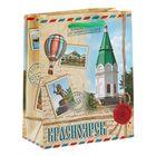 Пакет подарочный S «Красноярск»