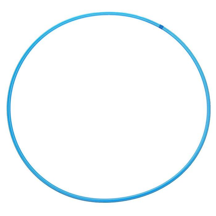 Обруч, диаметр 90 см, цвет голубой