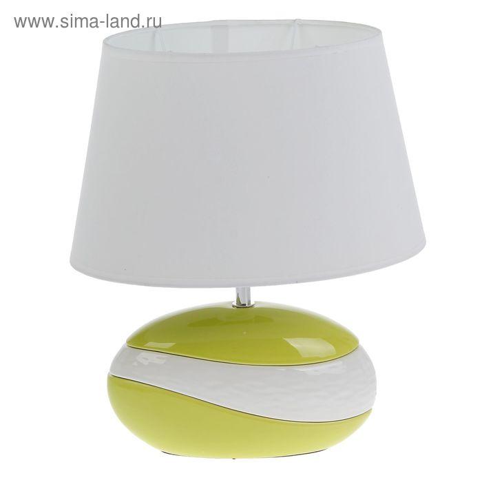 """Лампа настольная с абажуром """"Эко"""" свежесть"""