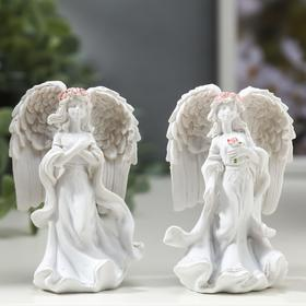 """Souvenir """"the angel-girl in pink wreath - hope"""" MIX"""