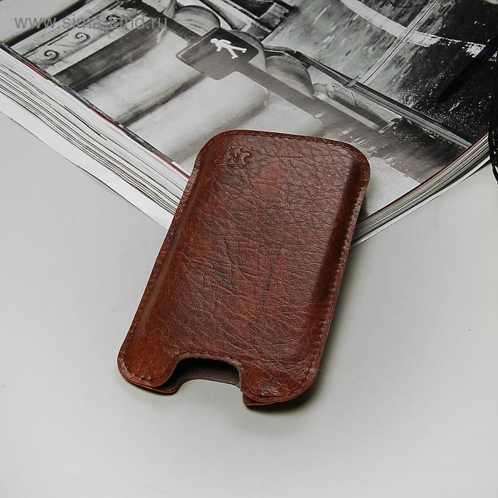 """Чехол-кармашек """"Norton"""" для телефона Samsung, цвет коричневый"""