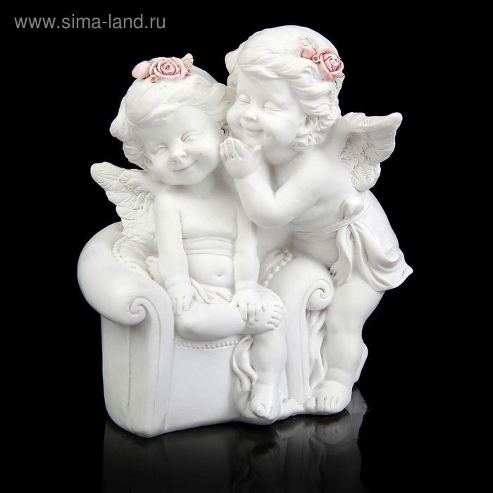 """Копилка """"Ангелочки в розовых веночках в креслице"""""""