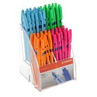 Ручка шариковая Stabilo Liner 808 Neon 0.5 мм стержень синий, микс в дисплее