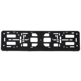 Bookmark for license plate, black.