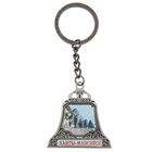"Keychain bell-shaped ""Khanty-Mansiysk"", silver"