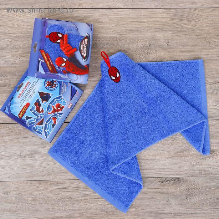 Полотенце махровое, Человек-Паук, + игра на упаковке